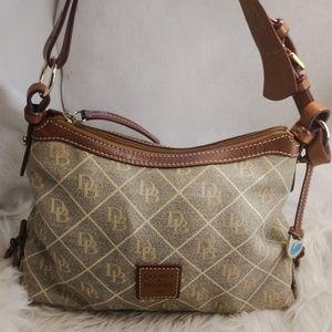 Authentic Dooney & Bourke purse handbag tan